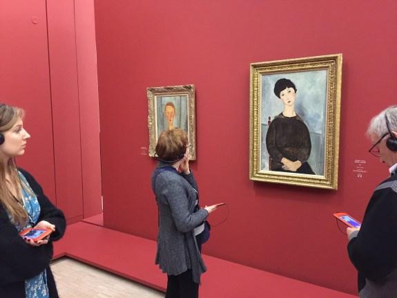 LaM, exposition Modigliani (c) Sinapses Conseils