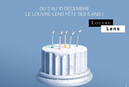 louvre lens 5 eme anniversaire banner
