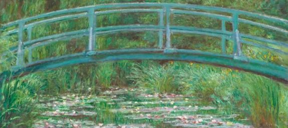 Le Pont Japonais, Claude Monet, 1899. (Collection National Gallery of Art, Washington)