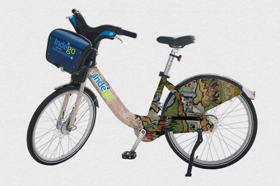philadelphy museum of art bike 1