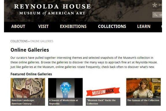 reynolda website