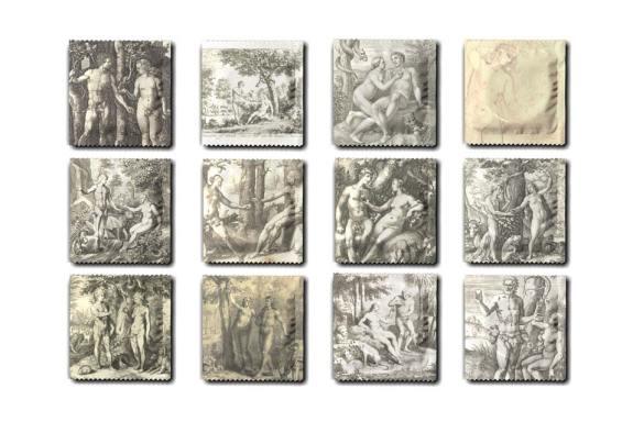 Collection de préservatifs inspirée par le Rijksstudio