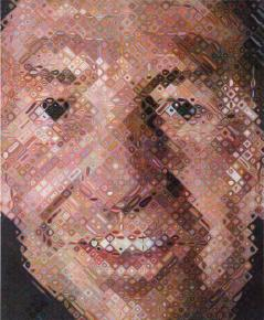 Chuck Close, Robert, 1997 © Chuck Close, license through Pace Gallery, New York. © Ellen Page Wilson