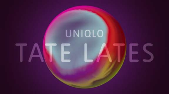 tate uniqlo tate lates logo