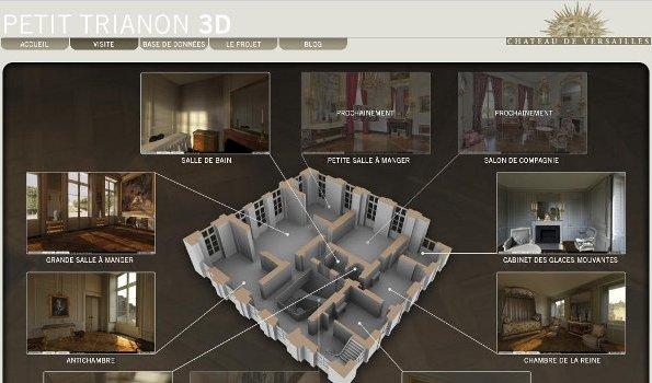 3d blog et vid o versailles poursuit ses innovations num riques club innovation culture. Black Bedroom Furniture Sets. Home Design Ideas
