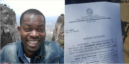 Hitler Samussuku é o novo Vice Presidente da Associação Cívica HANDEKA