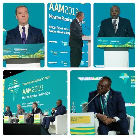Agostinho Kapaia convida empresários russos a investir em Angola