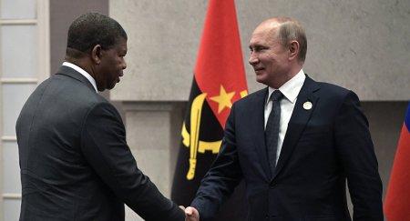 Putin quer intensificar ligação com Angola na extração de diamantes