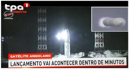 Angola usará satélite francês