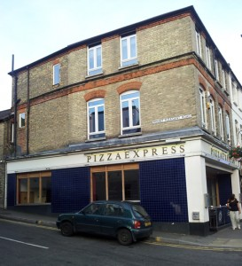 view of the outside of Caterham Club