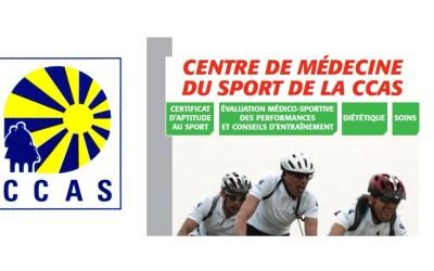 Le Centre de Médecine du Sport de la CCAS ferme ses portes