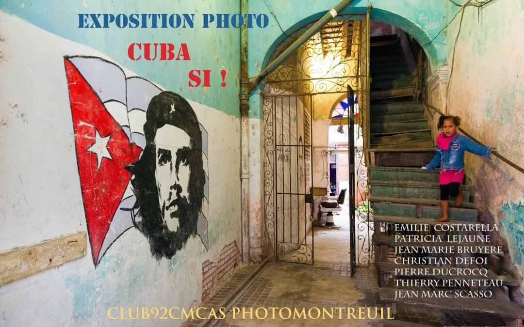 Exposition photo :  Cuba est un État insulaire des Caraïbes à Montreuil