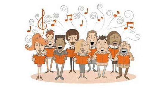 La section chorale est accessible tous ceux club92cmcas - Chorale dessin ...