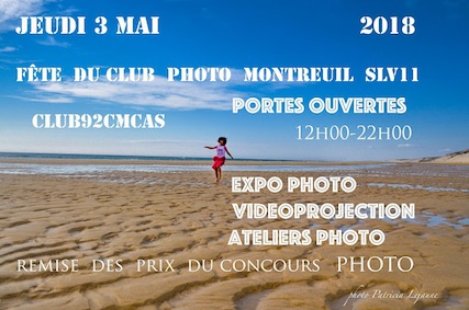 Club92Cmcas Fête Club Photo 2018 Affiche