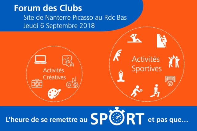 Forum des clubs - EDF Picasso Sept 2018