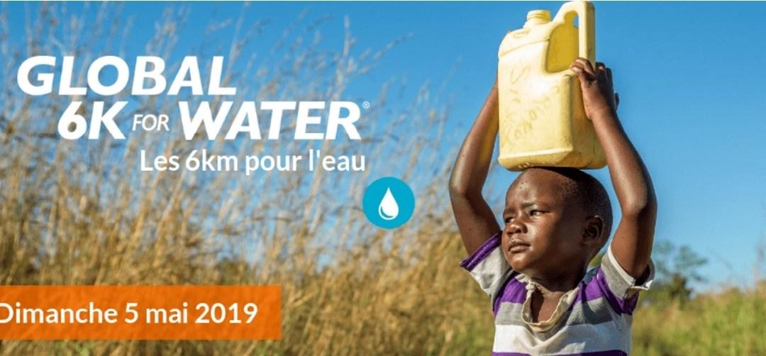 Le 5 mai 2019, courez 6km pour l'eau