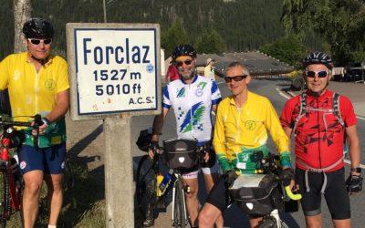 Le tour du Mont Blanc en vélo