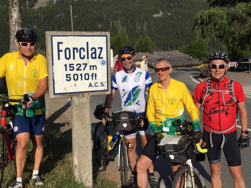 Cyclo Col Forclaz (Suisse) en juillet 2019