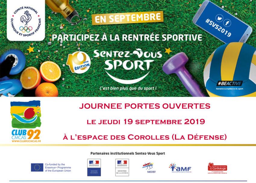 Sentez-vous Sport 2019 avec l'association Club92Cmcas