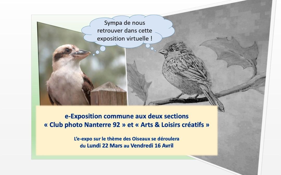 Oiseaux Expo Nanterre Mars 2021