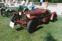 1933 Alfa Romeo 8C 2300 2.6 Liter Monza Spider Corsa, front