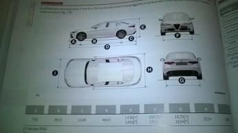 Alfa Romeo Giulia libretto uso e manutenzione