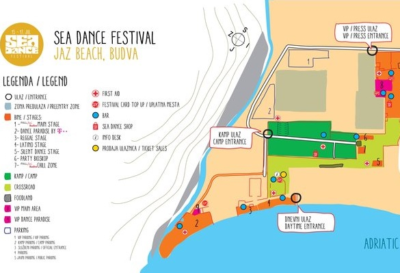 mapa festivala