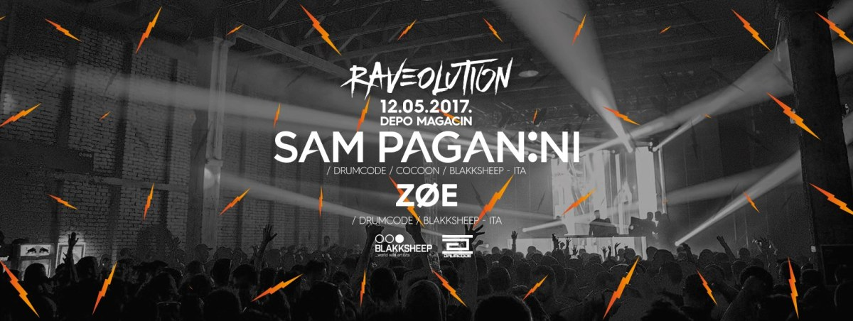 Drumcode spektakl u Beogradu! Sam Paganini 12. maja na Raveolution žurci!