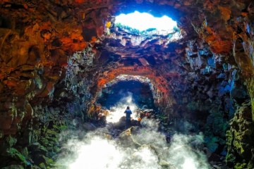 Rejv kroz tunele od lave islandskih vulkana