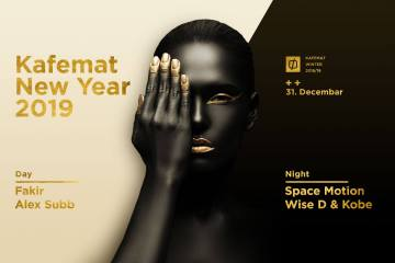 Day & Night parties 31. decembra u klubu Kafemat