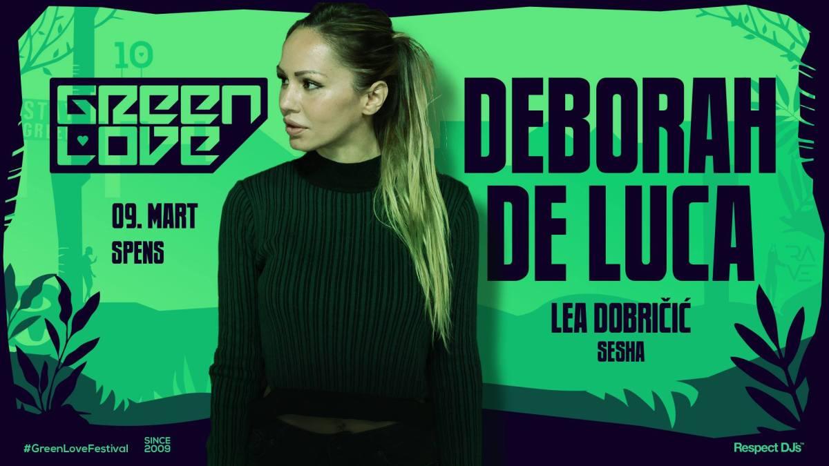 Deborah De Luca 9. marta stiže na Green Love