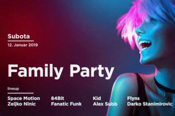 Family Party u klubu Kafemat ove subote