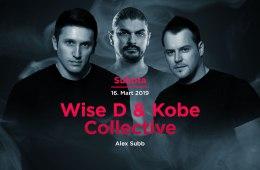 Wise D & Kobe i Collective 16. marta u Kafematu