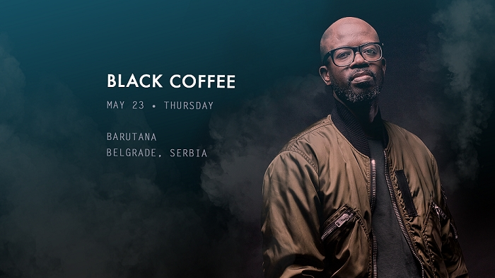 Black Coffee 23. maja u Barutani