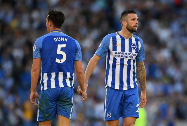 Image result for Shane Duffy and Lewis Dunk.