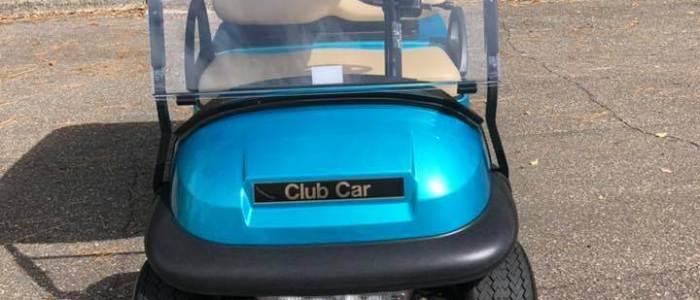 2018 Teal Club Car Precedent