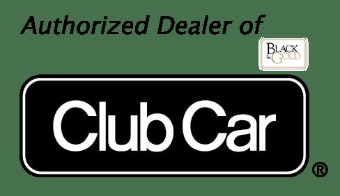 Club Car Authorized Dealer Logo Black bg - Front Page