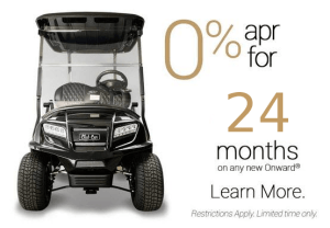Onward 0percent 24months - Club Car Remanufactured Vehicles