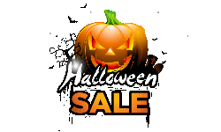 halloween sale png half - Front Page