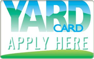 yard card apply here - Welcome
