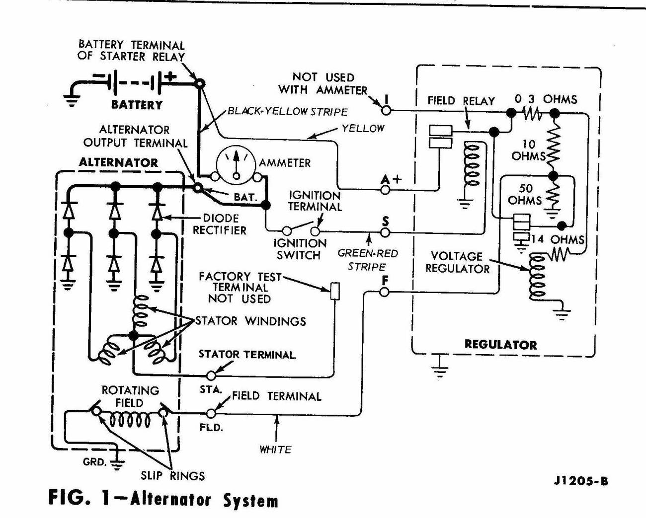 Alternator Voltage Regulator Diagram 24v Wiring