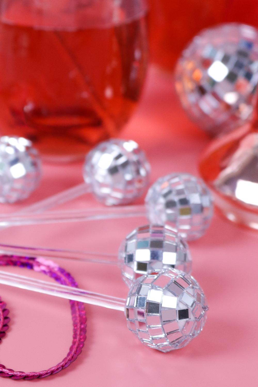 DIY Disco Drink Stirrers   Club Crafted