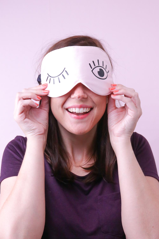 DIY Eyelash Sleep Mask   Club Crafted