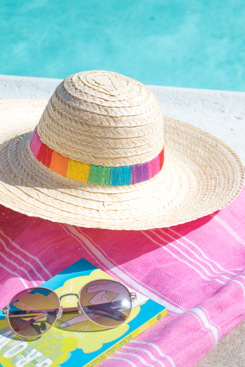 DIY Embroidered Sun Hat   Club Crafted