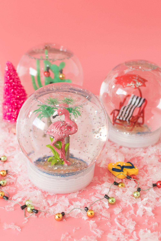DIY California Snow Globes | Club Crafted