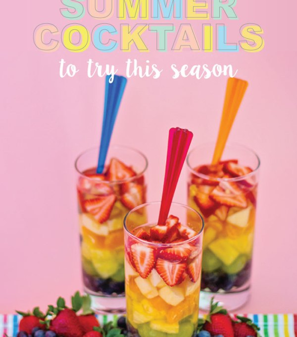 Fun Summer Cocktails for Parties this Season | Club Crafted