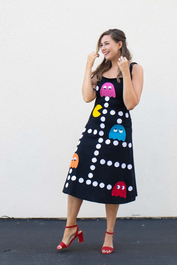 Pac Man Costume Diy : costume, No-Sew, Pac-Man, Costume, Halloween, Crafted