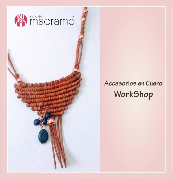 Taller de accesorios en Cuero - macramé