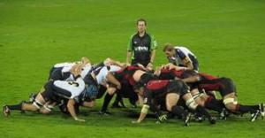 scrum en rugby