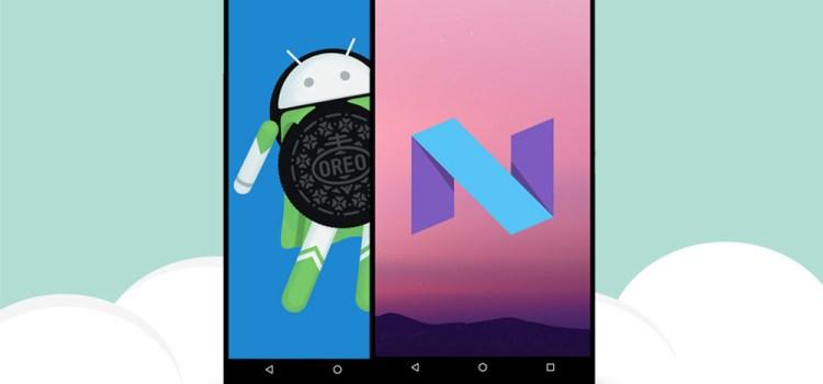 Android: ¿Oreo es mejor que Nougat?